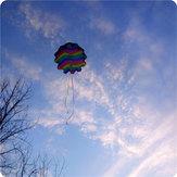 27,5 tommer parachute legetøj drage udendørs spil hånd kaste gratis falde legetøj
