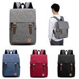 Mænd Kvinder Casual Canvas Laptop Backpack Backpack Rucksack Student Shoulder Bags
