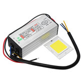AC100-265V To DC20-40V 50W Waterproof LED Driver Power Supply With SMD Chip