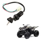 Universal Ignition Barrel Switch 4 Wires 2 Key For Motorcycle Pit Dirt Bike Quad ATV