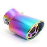 La punta del silenciador universal de tubos de escape posterior del coche curvada de acero inoxidable de 60 mm