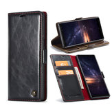 Caseme Wallet Kickstand Protective Case For Samsung Galaxy Note 9 Magnetic Flip Card Slots