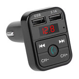 Quelima B2 Car Bluetooth Transmissor FM Car Charger Car Bluetooth Transmissor