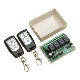 Geekcreit® 315Mhz 12V 4CH Channel Wireless Remote Control Switch Module With 2 Transmitters