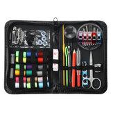 200Pcs Portable Sewing Kit Set Thread Scissor Tape Pins Thimble Needle Travel