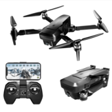 VISUO K1 5G WIFI FPV GPS With 4K HD Dual Camera Brushless Foldable RC Drone Quadcopter