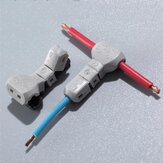 T-21 1Way Lock Quick Splice Wire Connectors 18AWG 0.75mm2 Tap Wire 23~20AWG 0.3-0.5mm2 Automotive Wiring Harness