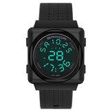 SANDA 2000 Cool Sport Watch Shockproof Luminous Display Fashion 50m Waterproof Digital Watch