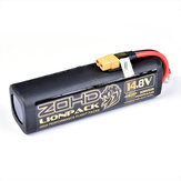 ZOHD LIONPACK 4S2P 18650 14.8V 7000mAh Li-ion Battery Pack for ZOHD DART XL Enhanced Version/ZOHD Tal0n GT Rebel/Sonicmodell Skyhunter/Sonicmodell Mini Skyhunter V2/Sonicmodell-HD-Wing/Sonicmodell Binary/Sonicmodell AR Wing Pro RC Airplane Spare Part