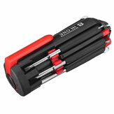 8 in 1 Multifunctional Screwdriver Cellphones Watches Home Appliances Repair Tools with Light