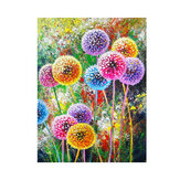 DIY 5D Diamond Painting Kit Colorful Dandelions Handmade Craft Cross Stitch Embroidery Home Wall Decorations