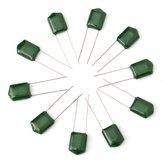140 pz 14 Valore ± 10% 630 V Poliestere Kit Assortimento Condensatore Fisso 2J102J-2J683J 10 pz Ogni Valore