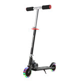 Kids Scooter LED Flashing Wheel Adjustable Height Kick Scooter Children Toddlers for 3-6 Years Old