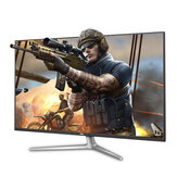 AOC U4308V 43-Inch 4K IPS Monitor 60Hz Gaming 178° Viewing Angle Free-Sync PBP Split Screen Office Ultra Thin Frame Built-in Speakers Support with HDMI VGA DP