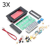 3Pcs ICL7107 4 Digital Ammeter DIY Kit Électronique LED Soudure Set