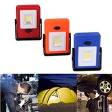 Portable COB Hook Magnetic Work Light Battery Powered Outdoor Lamp for Camping Fishing Hiking