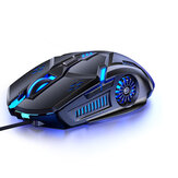 YINDIAO G5 Wired Gaming Mouse 6D 3200DPI RGB Gaming Mouse Computer Laptop Optical Game Mouse