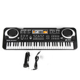 61 Keys Kids Electronic Music Keyboard Electric Digital Piano Organ Toy + Mic