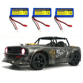 SG 1604 RTR Several Battery 1/16 2.4G 4WD 30km/h RC Car LED Light Drift On-Road Proportional Vehicles Model