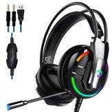 A18 E-spor Kulaklık 3.5mm Telefon Kulaklığı Stereo HiFi Gaming Headset PC Cep Telefonu için Mic Ile