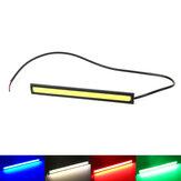 12V Impermeable LED Luces de circulación diurna Tira de manillar Moto Decoración de protección contra el viento Automóvil Coche Universal