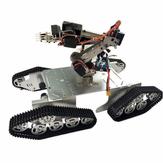 DoArm T900 Robot Tank Coche Chasis con S7 Brazo de robot Garra para