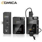 Comica BoomX-D MI1 2T1R 2.4G digitale draadloze lavalier-microfoon voor Lightning-poort voor iPhone mobiele telefoons