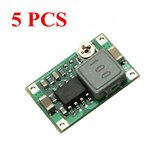 5 Pcs Mini DC Adjustable Power Supply Buck Modul Melangkah Modul