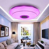 100W Smart LED Plafondlamp Lamp RGB Bluetooth Muziek Luidspreker Dimbaar Slaapkamer