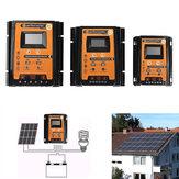 30A/50A / 70A 12V / 24V USB inteligente PWM Solar Panel Batería Controlador de carga del regulador