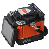 A-80S AC 110 / 220V Oranje Automatische Fusion Splicer Machine Glasvezel Fusion Splicer Glasvezel Splicing Machine