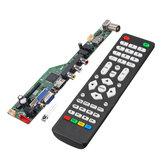 T.SK106A.03 Universal LCD LED TV-Controller-Treiberplatine TV / PC / VGA / HDMI / USB mit Fernbedienung