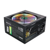 1200W Active ATX 12V PFC Desktop Gaming PC Power Supply 8PIN + 2x6PIN Silent Fan with LED Light