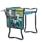 6 zseb multifunkcionális kerti térdelő szerszámtáska kerti lapos kosárkesztyűhöz, lapátos vízdoboz tároló szervezeti táska