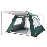 IPRee® 3-5 человек 210D Oxford Водонепроницаемы Кемпинг Палатка Полностью автоматическое укрытие с защитой от ультрафиолета для походов в лагерь Н