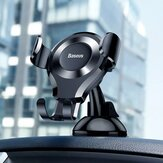 Baseus Gravity Magnetic Car Phone Holder Mount Suporte para ventosa forte para iPhone XS 11Pro XR MI10 S20 + Note 20