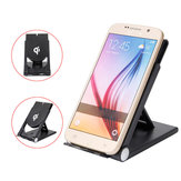 Universal 2 in 1 5W Qi Wireless Charger Foldable Desktop Stand Phone Holder for Samsung Smartphone