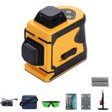 Laser Level 12 Lines Green Self Leveling 360 ° Rotary Cross Laser Strumento di misura