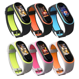Bakeey Replacement Anti-lost Diseño Colorful Silicona Reloj Banda para Xiaomi Mi Band 4 y 3 Reloj inteligente
