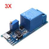 3Pcs 5V-30V Amplio Retardo Del Trigger Delay Relé Del Temporizador Conductor Del Relé Módulo Delay Interruptor
