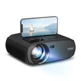 [5G WIFI] BlitzWolf®BW-VP13 1080P WIFI-Projektor Voll HD 2.4G/5G WIFI Cast Screen Mirroring 6000 Lumen Bluetooth 5.0 Manueller Fokus Keystone-Korrektur 180-Zoll-Projektor für Outdoor Movie Home