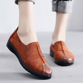 Women Casual Suede Soft Sole Loafers