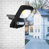COB LED zonne-energie Wall Street Lights inductie buiten PIR bewegingslamp