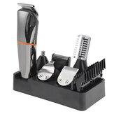6 In 1 Rechargeable Electric Hair Clipper LCD Display Wterproof Beard Nose Ear Hair Trimmer