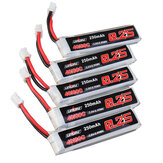 5 Pcs URUAV 3.8V 250mAh 40C / 80C 1S Lipo Batterie PH2.0 pour Happymodel Mobula6 HD Eachine US65 UK65 URUAV UR65 Mobula7