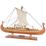 Drakkar Dragão Viking Sailboat Assembly Model Kit Laser Processo de corte DIY Toy