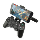 DATA FROG 208 Wireless Bluetooth 2.4G Gamepad Controller di gioco ergonomico con joystick per PS3 Android Telefono TV Scatola