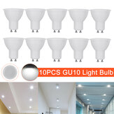 10 pezzi AC220V GU10 luce a led Faretto per lampadina lampada Downlight Home Office Hotel