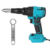 Cordless Electric Rivet Guns 2.4-4.8mm With LED Light For Makita 18V Battery