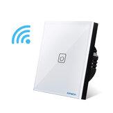 BONDA Smart Switch Тип 86 1/2/3 Way RF433 Wireless Дистанционное Управление Переключатель Сенсорный экран с дополнительным переключателем